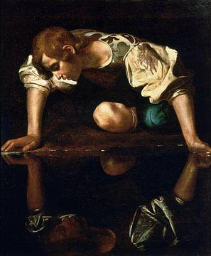 Caravaggio, Narziss - 1594-96 von Atelier Liesjes
