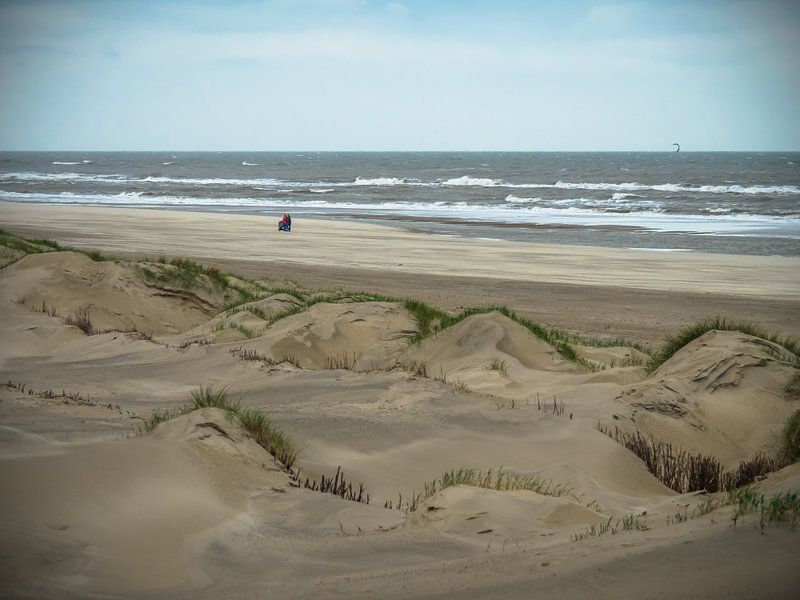 Dünen am Meer von Martijn Tilroe
