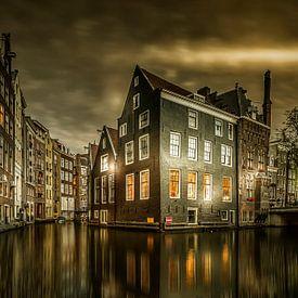 Amsterdam wanneer de avond begint van Sandra Kuijpers