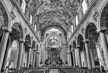 Schwarz-Weiß-Fotografie - Kathedrale von Santissimo Salvatore ... von Bert - Photostreamkatwijk