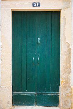 Die Türen von Portugal grünen Nr. 26 von Stefanie de Boer