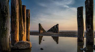 Sonnenuntergang von Jolanda Bosselaar