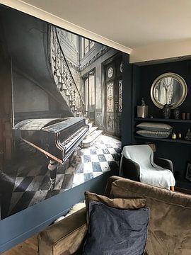 Kundenfoto: Mein altes Klavier von Inge van den Brande