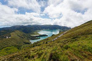 Lagoa do Fogo, Azoren, Portugal