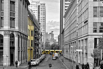 Berlin Streetview II van Joachim G. Pinkawa