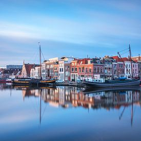 Galgewater in Leiden van Ilya Korzelius