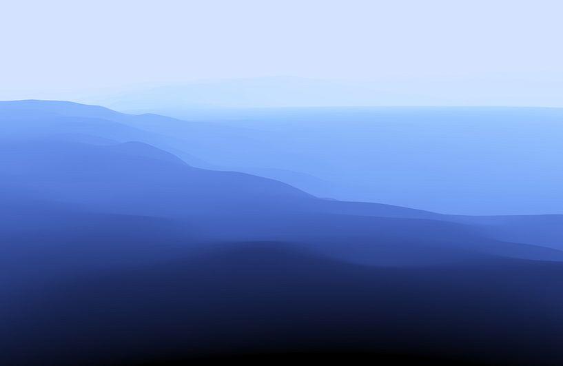 Sérénité Bleue van Angel Estevez