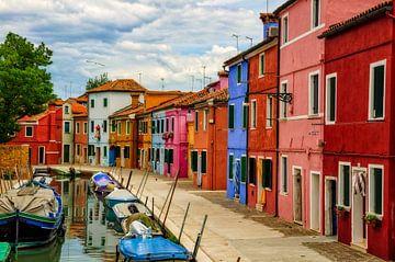 Burano, une ville haute en couleurs - Vénétie sur Peter Bergmann