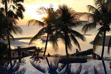 Zonsondergang in Bali von Rachel Marsie