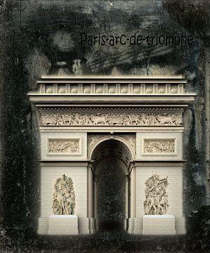 arc-de-triomphe paris van H.m. Soetens