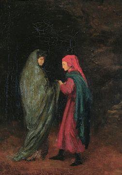 Dante und Virgil am Eingang zur Hölle, Edgar Degas