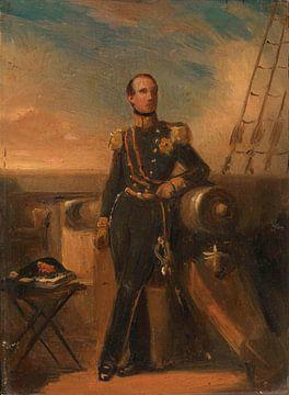 Porträt von Hendrik, Prinz der Niederlande, Nicolaas Pieneman
