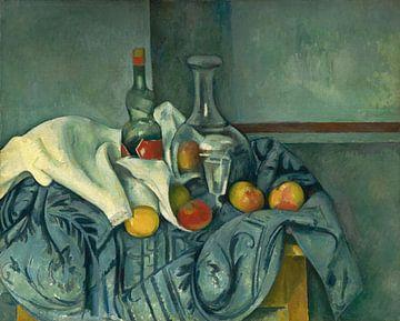Paul Cézanne, Die Pfefferminzflasche, Stillleben - 1893-1895