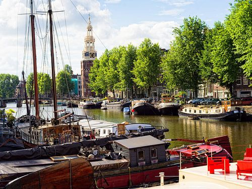 Montelbaanstoren Amsterdam van