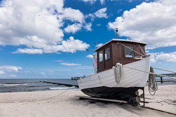 Fischerboot in Koserow auf der Insel Usedom von Rico Ködder
