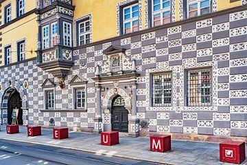 Haus zum Stockfisch, Stadtmuseum in Erfurt, Deutschland von Gunter Kirsch