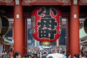 Sensoji Temple in Tokyo van