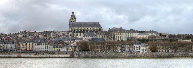 Blois, een stadje aan de Loire in Frankrijk van Hans Kool