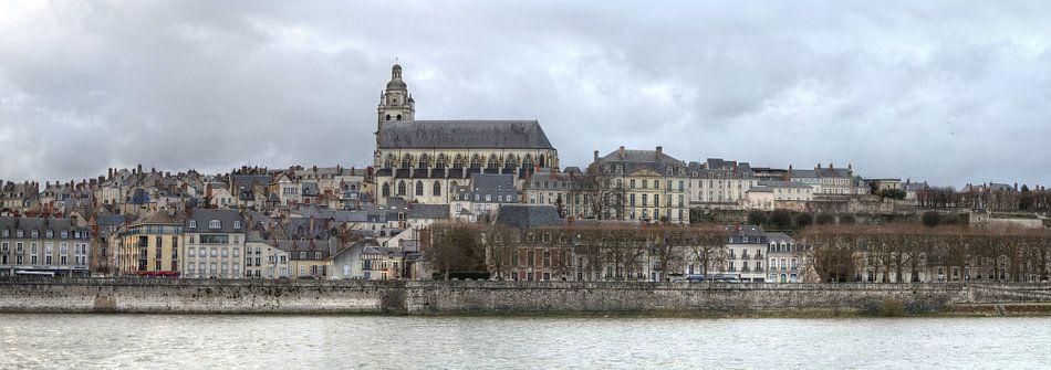 Blois, een stadje aan de Loire in Frankrijk