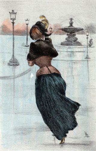Mode 1884, Mode in het negentiende-eeuwse Parijs, Henri Boutet, (1851 1919) van