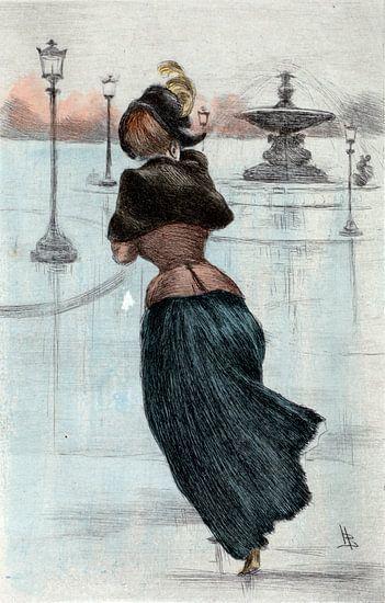 Mode 1884, Mode in het negentiende-eeuwse Parijs, Henri Boutet, (1851 1919)