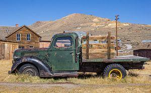 Klassieke truck in spookstad Bodie