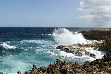 Curacao, ruige kust no. 3 von Arnoud Kunst