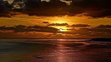 Red sky von Jos Bergsma