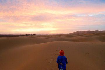 Sunrise in the desert von