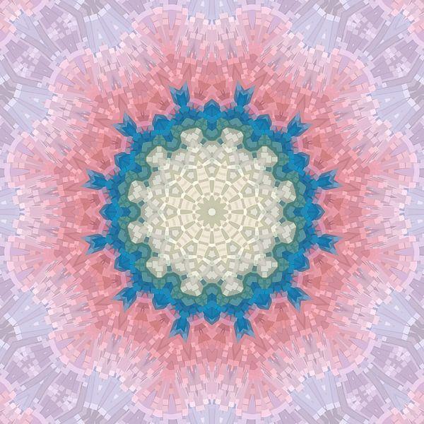 Mandala-stijl 12 van Marion Tenbergen