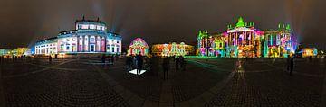 Bebelplatz Panorama - 's Nachts in een bijzonder licht