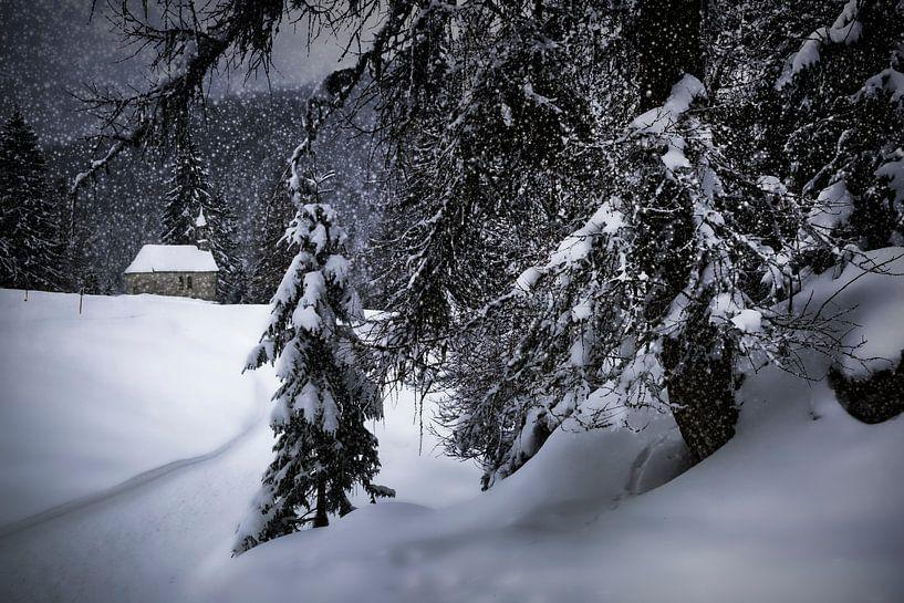 Wintermärchen HEMMERSUPPENALM XI von Melanie Viola