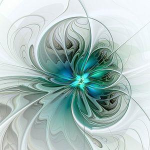 Abstrakt mit Blau 2