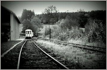the Last Train von Ernie Mussche