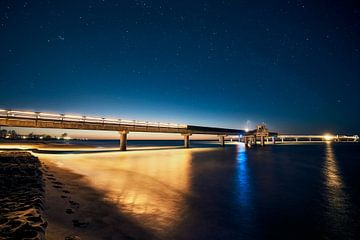 Seebrücke von Mike Ahrens