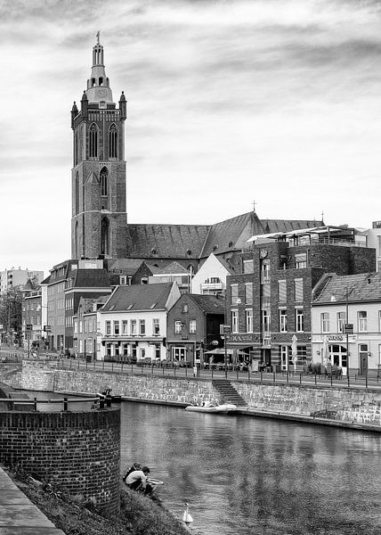 St. Christoffel Kathedraal in Roermond van Christa Thieme-Krus