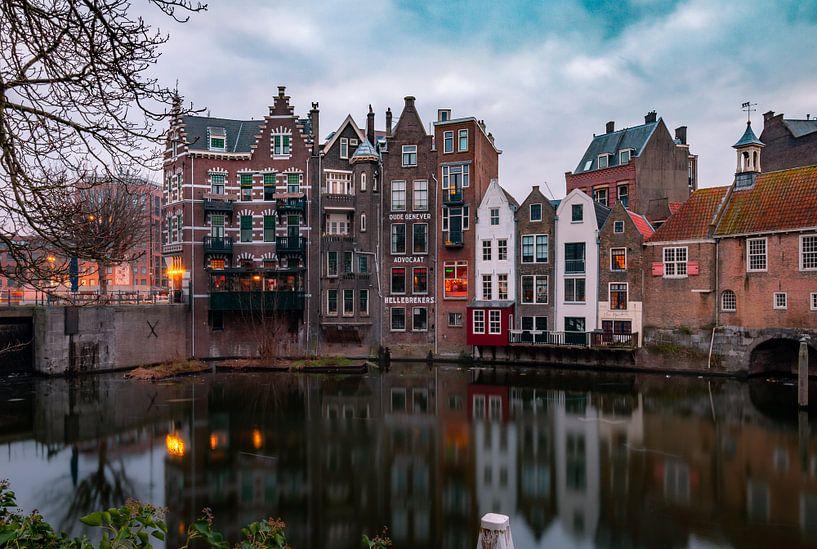 Historisch Delfhaven in Rotterdam van Arisca van 't Hof