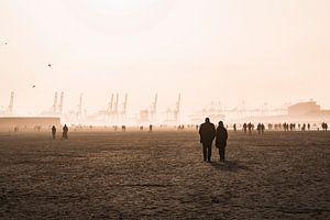 Strandliefde van Marcel Kool