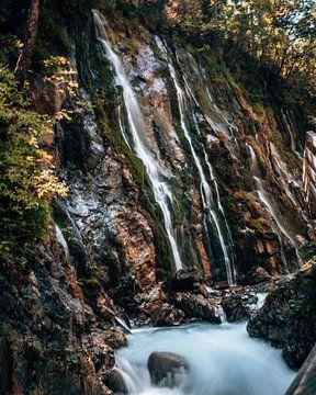 Wimbachklamm Wasserfälle im Berchtesgadener Land Bayern Deutschland von Marion Stoffels