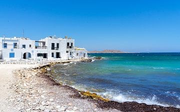 Oude Haven van Naoussa op Paros van Mario Calma
