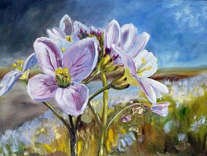 Pinksterbloemen von Rina de Korte