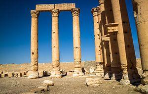 Palmyra in Syrië van