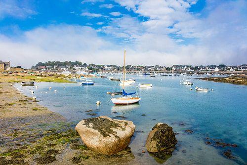 Port in Brittany in Ploumanac?h