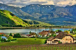 Lake Caldaro in South Tyrol