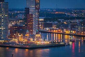 Hotel New York van af de Euromast