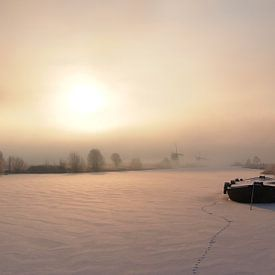 Lueur chaude sur un matin d'hiver froid sur iPics Photography