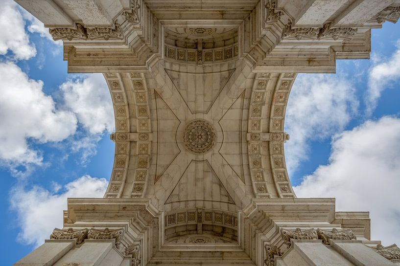 Arco da Rua Augusta in Lissabon van MS Fotografie | Marc van der Stelt