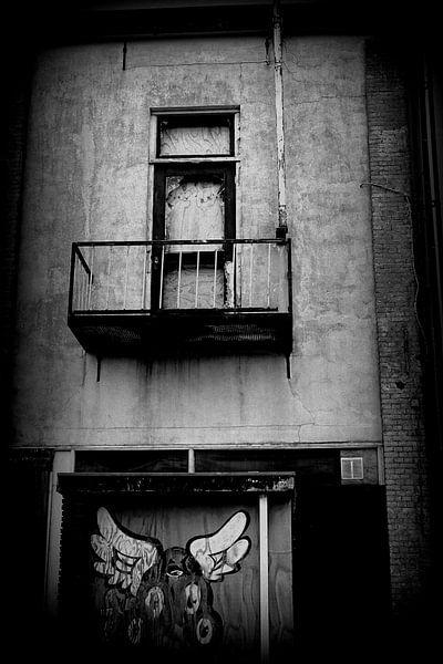 Balkon, Grafity  van Angelique Roelofs