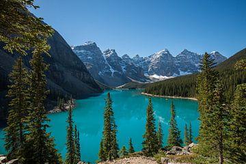 Morraine Lake, Alberta (Canada) van Kaj Hendriks