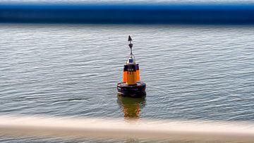 Markering Noord Meep en Slenk voor Terschelling van Roel Ovinge